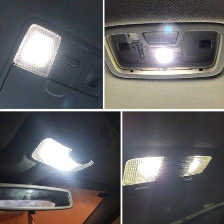 Żarówki C5W SV8,5 16 LED 36mm Canbus 12V białe