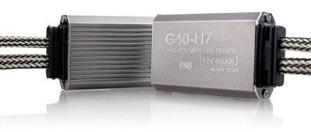 Zestaw żarówek LED H7 6000K seria G40