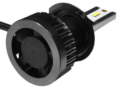 Zestaw żarówek LED H7 6000K seria K1